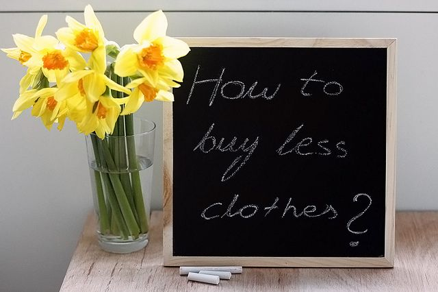 How to buy less clothes guide. The power of slow fashion!