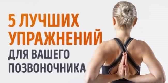 5 упражнений для позвоночника, которые можно делать даже в офисе.
