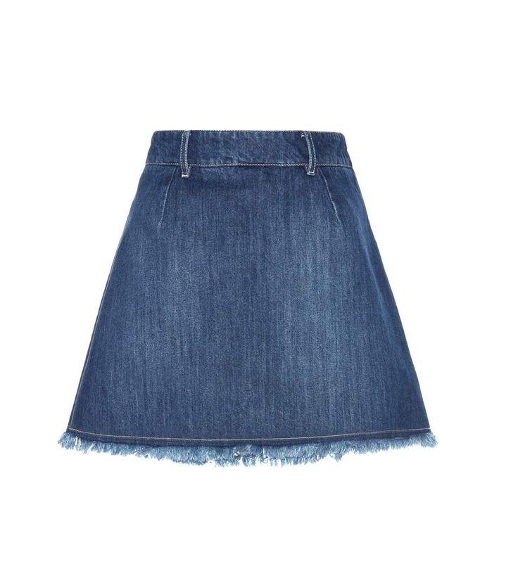 1000+ ideeën over Jupe En Jean op Pinterest - Lange jeansrokken ...
