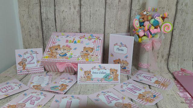 Torturi - Viorica's cakes: Pachet botez Candy pentru Briana