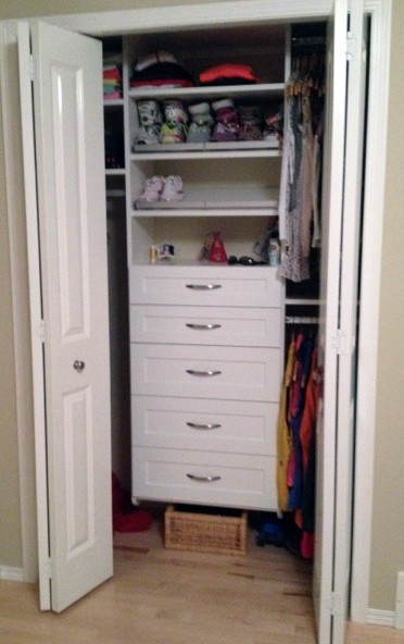Room to Move: Turning a Spare Bedroom Into a Runner's Home Base - California Closets DFW Blog