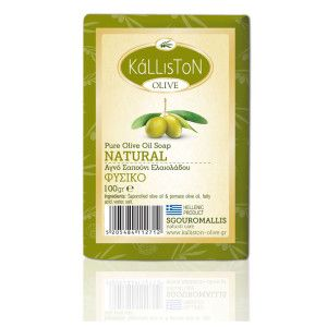 Green olive oil soap (natural fragrance)