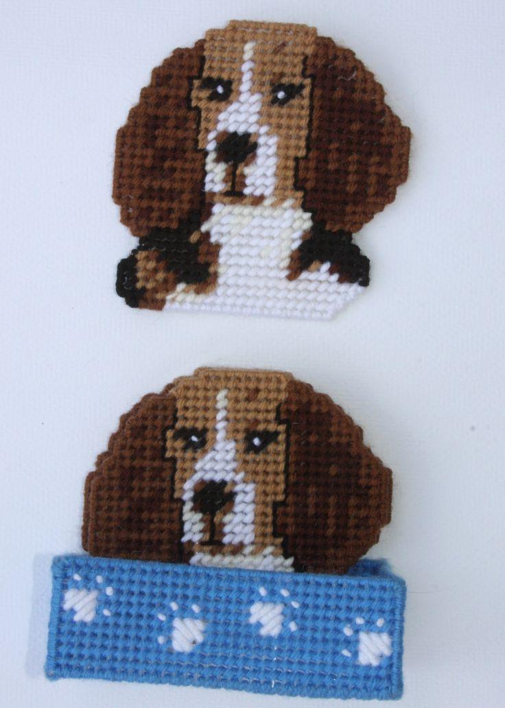 everything plastic canvas | Plastic Canvas-Beagle Coaster Set Plastic-Canvas-Kits.Com