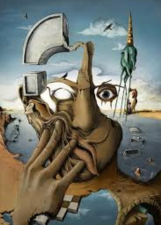Salvador Dali- I've seen this painting in person - it is unbelievable .