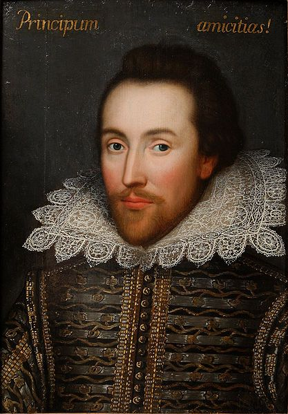 Artist unknown, The Cobbe Portrait of William Shakespeare, ca. 1610