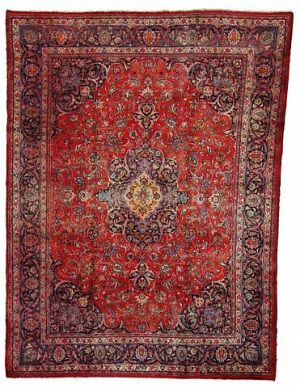 9' 7 x 12' 10 Mashad Rug  on  Daily Rug Deals