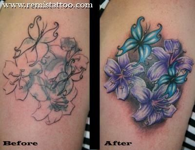 Cover up tattoos- cover up tattoo ideas best cover up tattoos ...