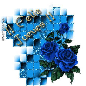 rosas azules para desearte que pases un Feliz Jueves