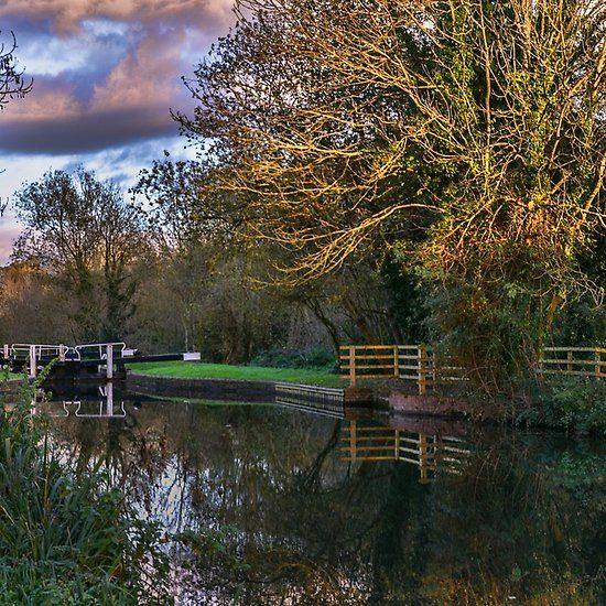 Autumn Reflections On The Kennet