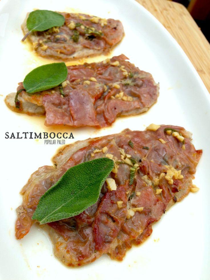 Paleo Sandy's Chicken Saltimbocca