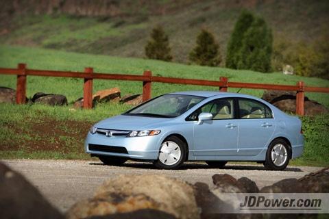 My car! 2008 Honda Civic Hybrid