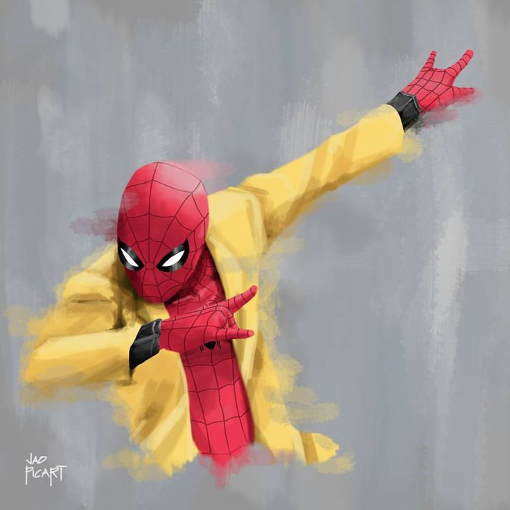 """(@jaopicksart) on Instagram: """"Guess who really liked that """"That Spidey Life"""" video from @nerdist? *points at self* This guy!"""""""