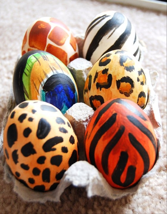 just some easter eggs painted a little bit differently.