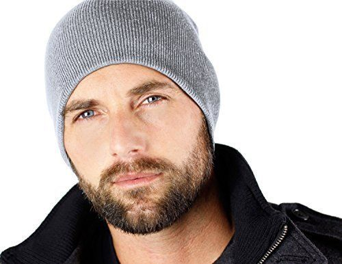 Men's Skull Cap Beanie Fits Perfect Winter Warm Compact Lightweight Comfortable #EverythingBlack #Beanie