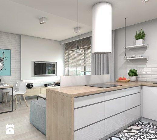 apartament skandynawski / Tarnowskie Góry - Kuchnia, styl skandynawski - zdjęcie od A2 STUDIO pracownia architektury