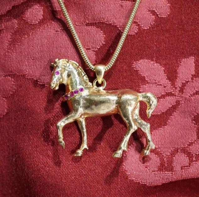 Venetian Horse - handmade Dogale Jewellery Venice Italy