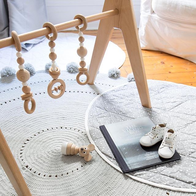 Our new Modern Monty Deluxe Simply Scandi Baby Gyms make the most beautiful addition to your nursery. A heirloom toy for the stylish nursery with oh so many developmental benefits for your little ones. . independently safety tested and certified .  @maxandduke
