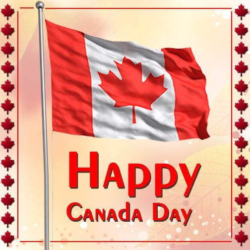Wishing You a Glorious & Happy Canada Day!