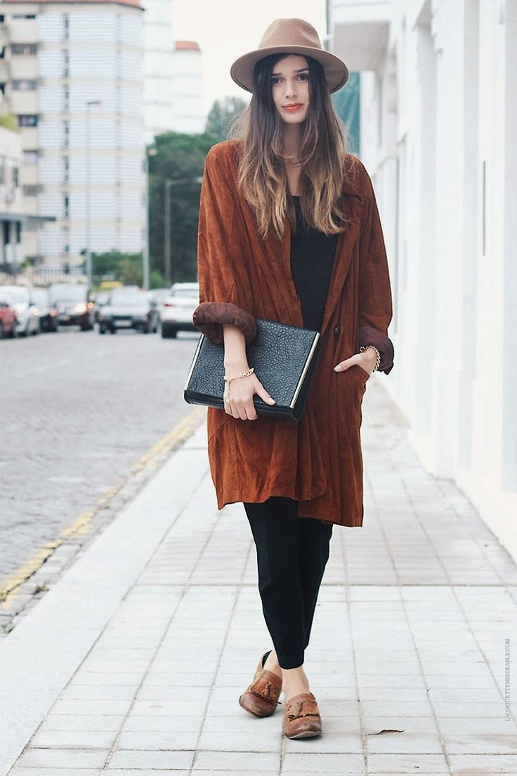La Coquette Miseráble Camel // Hat // Oversized Coat // Street Style // Outfit
