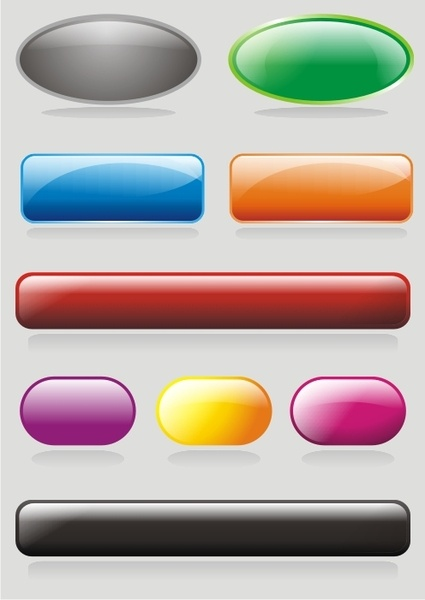 A very useful set of free vector buttons and badges created by Mystery-nicky #social #media #icon #vector #free