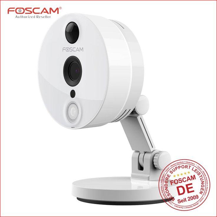 Foscam C2 HD IP Kamera * 2 Megapixel * 1920x1080 P * EzLink * Mini SD Card Slot * weiss