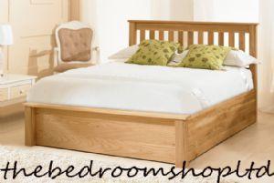 Kola Oak Ottoman Bedframe from