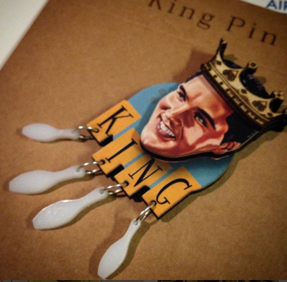 King Pin by LadyABroad on Etsy