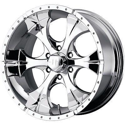 17x9 Chrome Helo HE791 Maxx 6x5.5 18 Wheels Nitto Exo Grappler 265/70/17 Tires