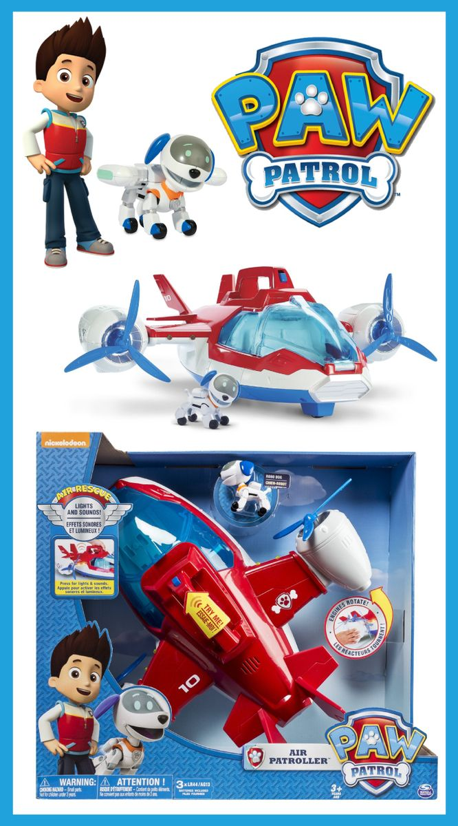 Get The Paw Patrol Lights Sounds Air Patroller For 3999 Amazonca