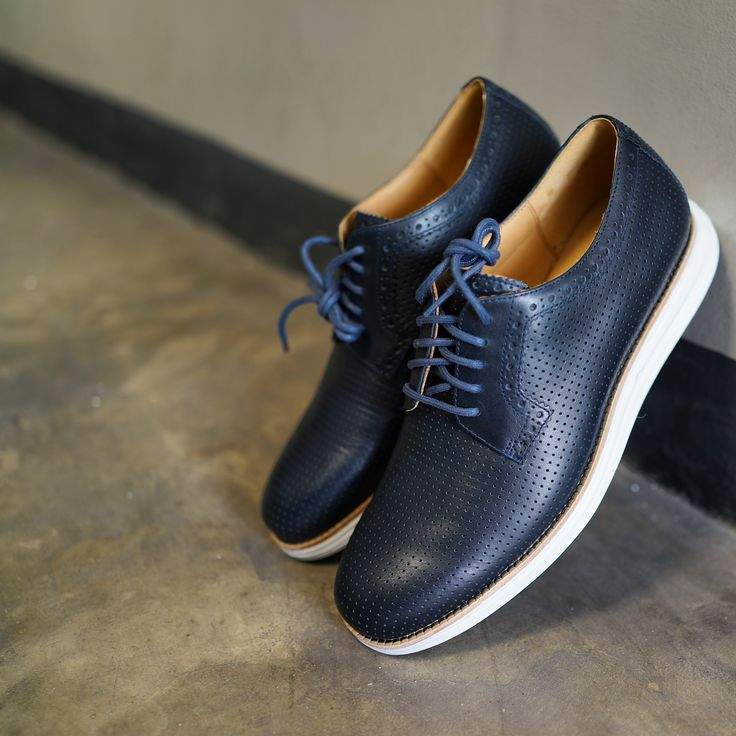 Cole Haan LunarGrand Wing Tips in Black/White. A must have for urban  living. | Clothes | Pinterest
