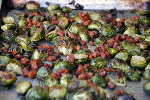 Brussels Sprouts with Pancetta and Balsamic Syrup | Recipe