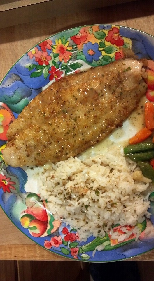 Pan-fried Swai With Lemon Butter Sauce | Food for thought