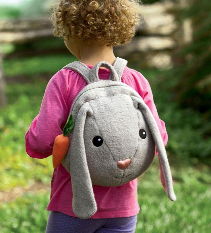 Apple Park Picnic Pals Organic Cotton Plush Easter Backpack