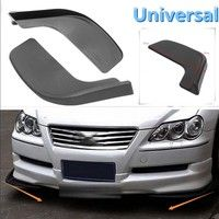 2Pcs Universal Car Bumper Spoiler Front Shovel Decorative Scratch Resistant Wing ◆Specification: Mo