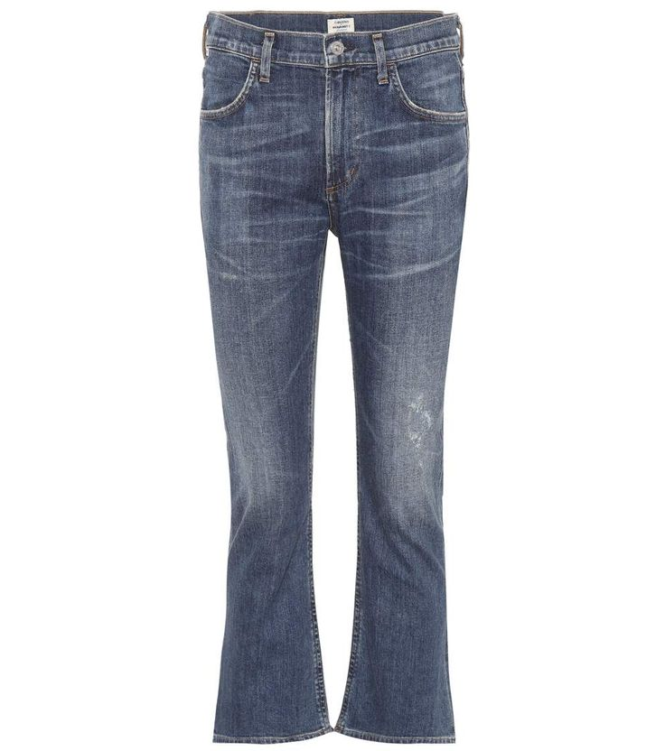 CITIZENS OF HUMANITY Drew Crop Flare jeans. #citizensofhumanity #cloth #