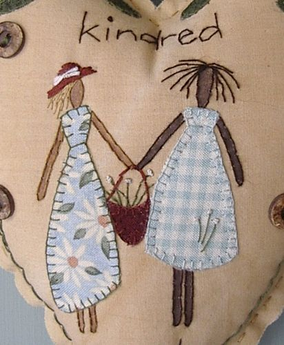 Kindred Spirits Heart  www.houseonthehill.co.nz