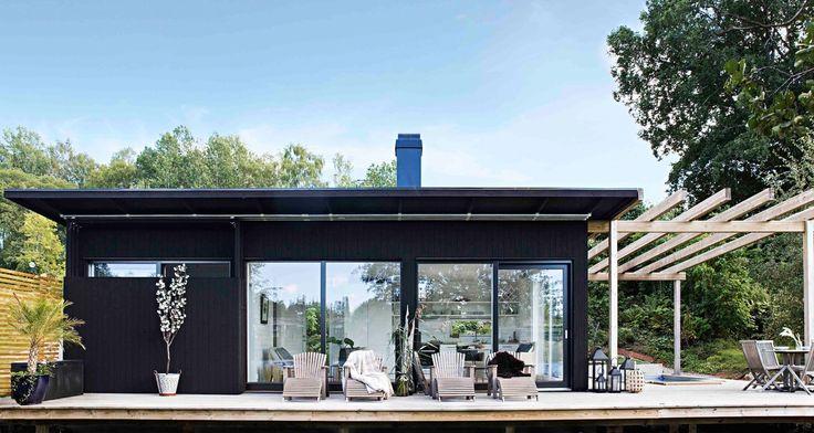 Lyxcamping bland bäver och fiskgjuse - Bastuhuset @Gotlandshuset