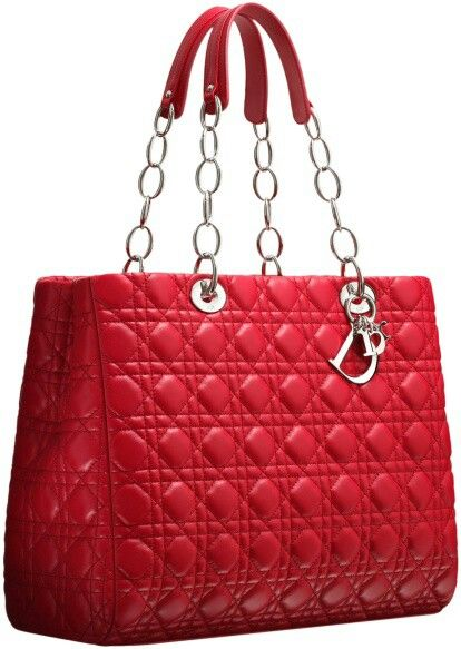 Purse : Dior soft crimson leather bag Purses, belts, and sunglasses Pinte ...