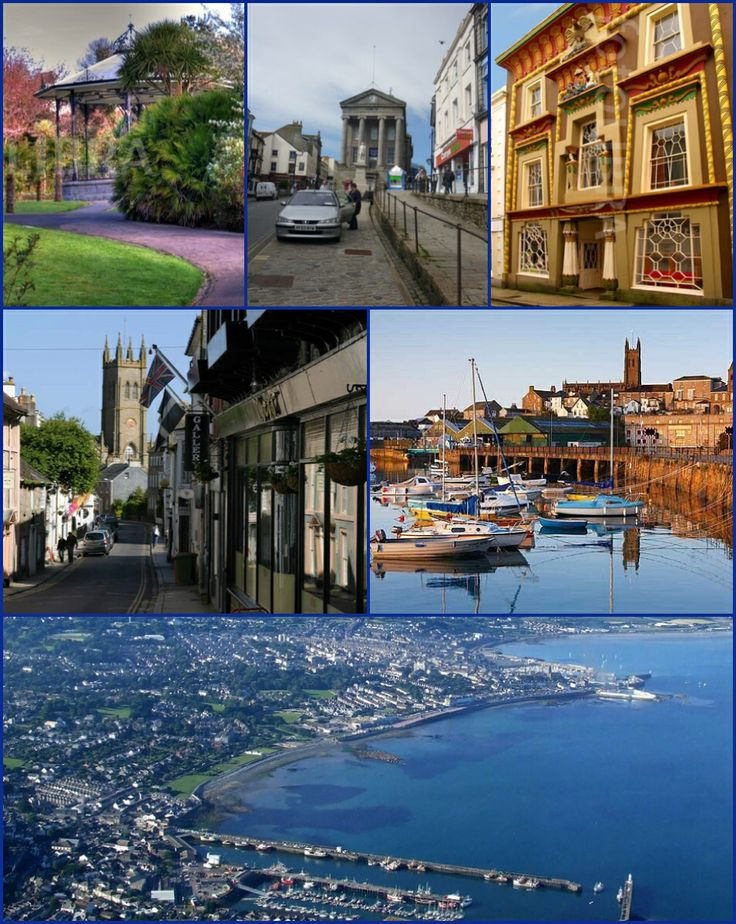 Penzance (/pɛnˈzæns/; Cornish: Pennsans) is a town, civil parish and port in Cornwall. It is well known for being the most westerly major town in Cornwall and is approximately 75 miles (121 km) west of Plymouth and 300 miles (480 km) west-southwest of London. Situated in the shelter of Mount's Bay, the town faces south-east onto the English Channel, is bordered to the west by the fishing port of Newlyn, to the north by the civil parish of Madron and to the east by the civil parish of…