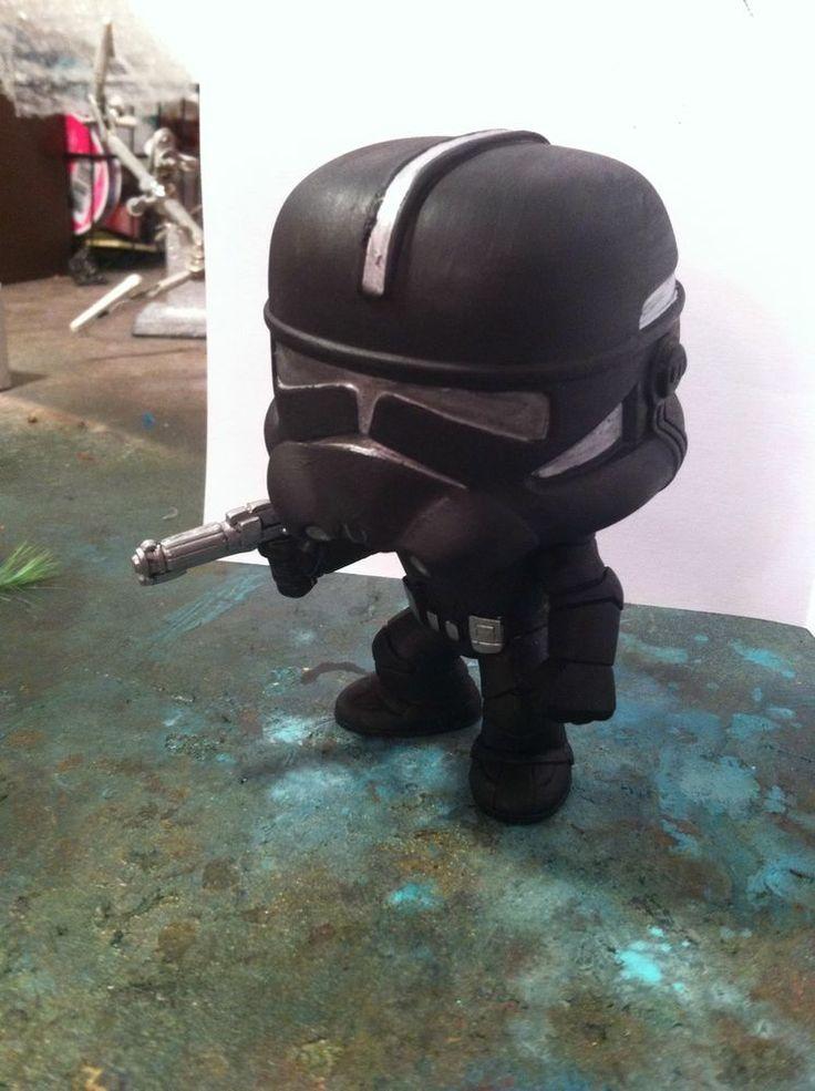 Funko Pop Vinyl Custom Star Wars Clone Shadow Trooper