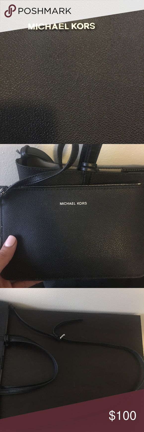 Michael Kors Black bag Michael Kors Black bag Combine orders for a discount. Message me with any questions. Michael Kors Bags Totes