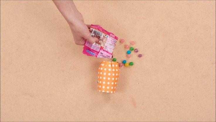 DIY Halloween - Porta caramelle autunnale