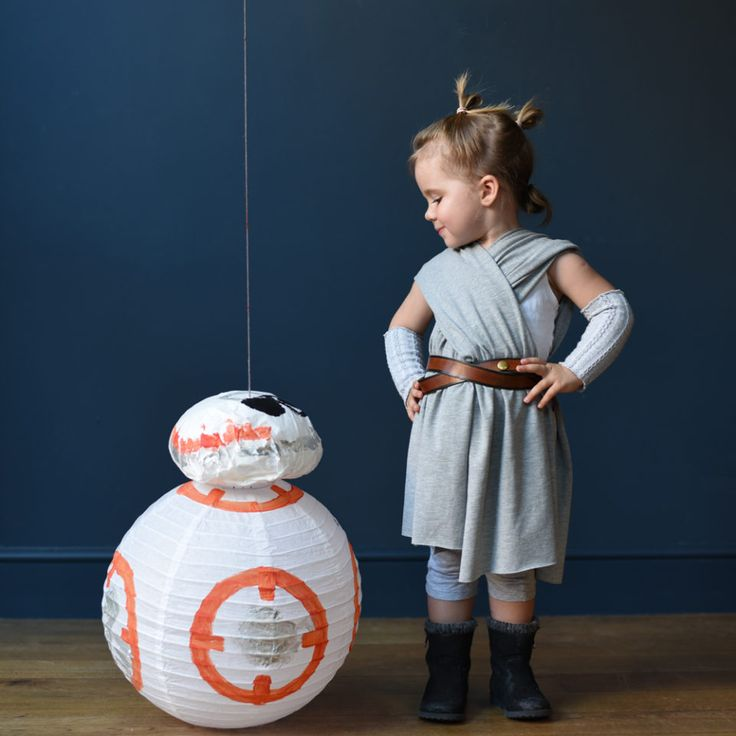 Rey and BB8 DIY costume                                                                                                                                                                                 More