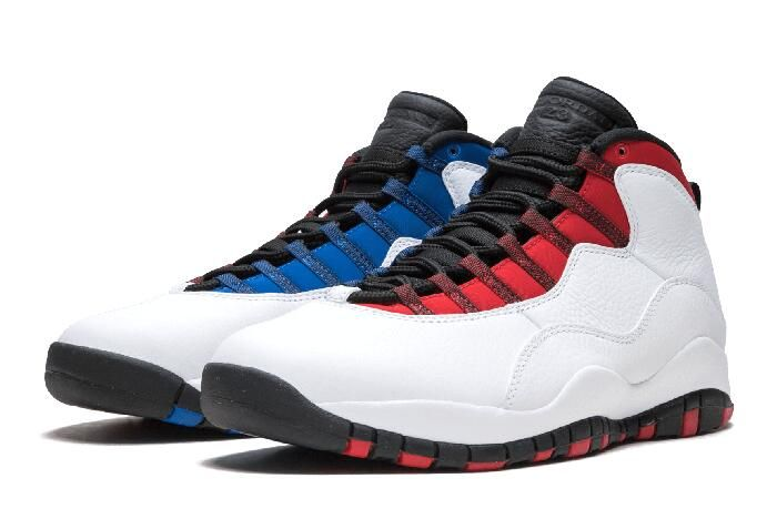 "sports shoes 7aa92 ce6bc Air Jordan 10 Retro Russell Westbrook ""Class of 2006""  White Black University Red Hyper Royal 310805-160"