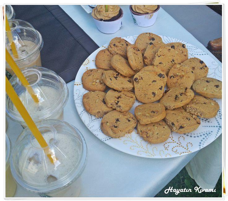 Tarçınlı cevizli nefis bir kurabiye, kahvenin yanında harika gidecek bir lezzet: http://hayatinkivami.blogspot.com.tr/2017/08/tarcinli-cevizli-kurabiye.html