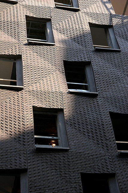 Not your grandpa's brick: SHoP Architects on Houston Street, Manhattan.