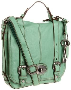 LoveCrosses Body, Mint Green, Messenger Bags, Fossil Purses, Design Handbags, Fashion Accessories, Fossils Bags, Fossils Purses, Cross Body