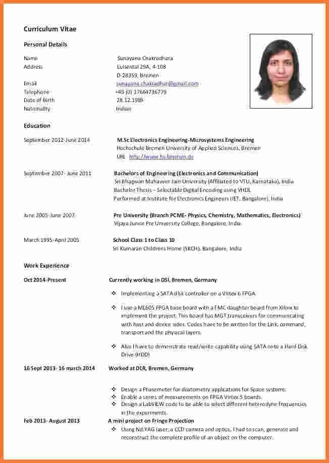 Curriculum Vitae Template European Format Best Collection Curriculum Vitae Template Cv Template Downloadable Resume Template
