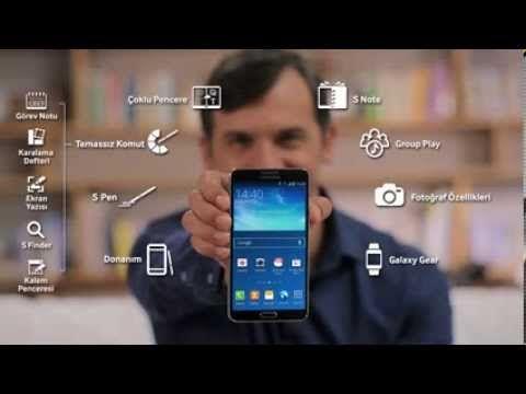 Samsung Galaxy Note 3 + Gear Türkçe İnceleme