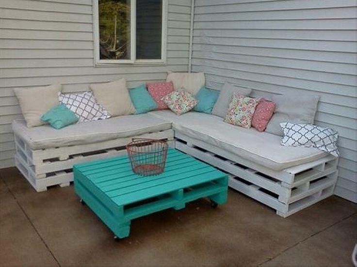 Best 25 Pallet outdoor furniture ideas on Pinterest